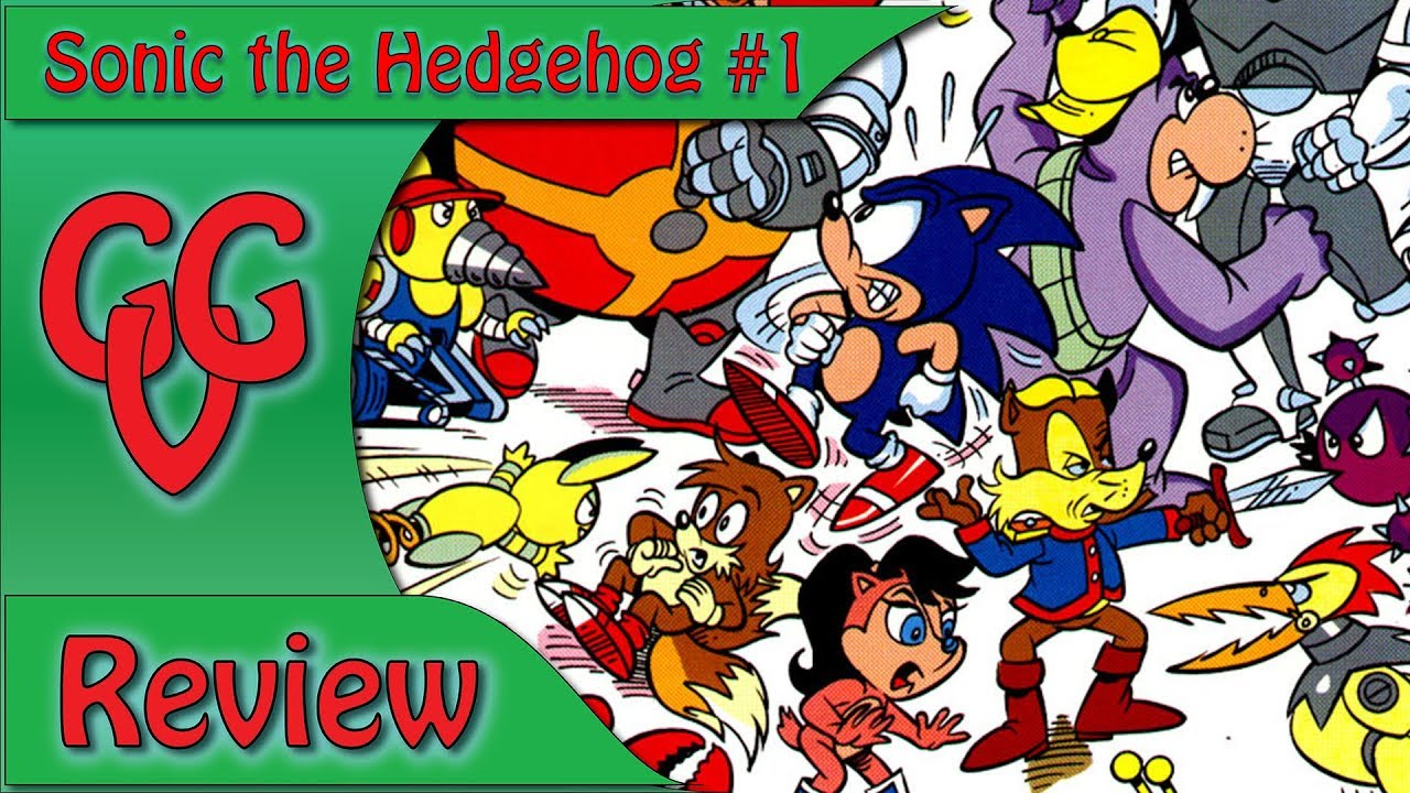 Sonic The Hedgehog Issue 1 Comic Review Youtube