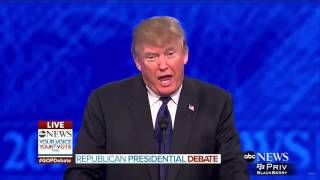Trump Will Bring Back Waterboarding! Debate Highlight
