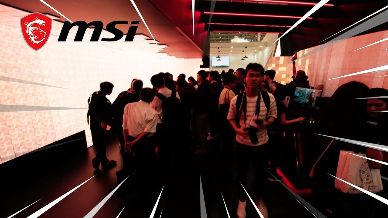 All the things you wouldn't want to miss at MSI COMPUTEX 2019 | MSI