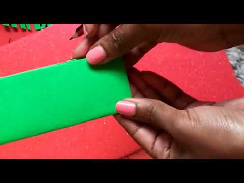 DIY Paper Leaves.