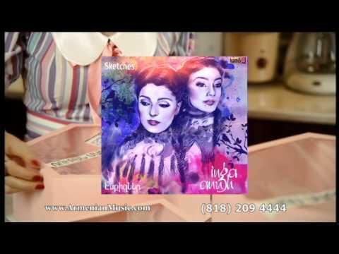 INGA ANUSH ARSHAKYANS NEW ARMENIAN CD CALLED SKETCHES IN USA BY HAMIK G MUSIC