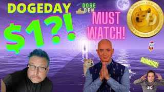 BREAKING NEWS! Dogecoin $1 In 24 Hours. JEFF BEZOS Support |Amazon