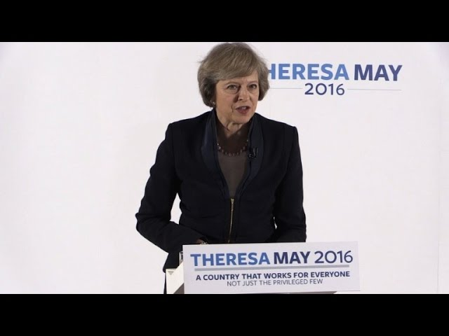 Theresa May to be Britain's next PM as opponent quits