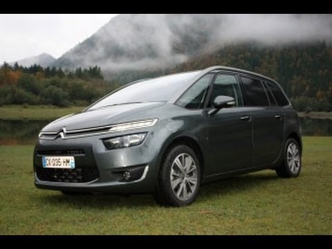 citroen c4 grand picasso 2013 testdrive presentation youtube. Black Bedroom Furniture Sets. Home Design Ideas