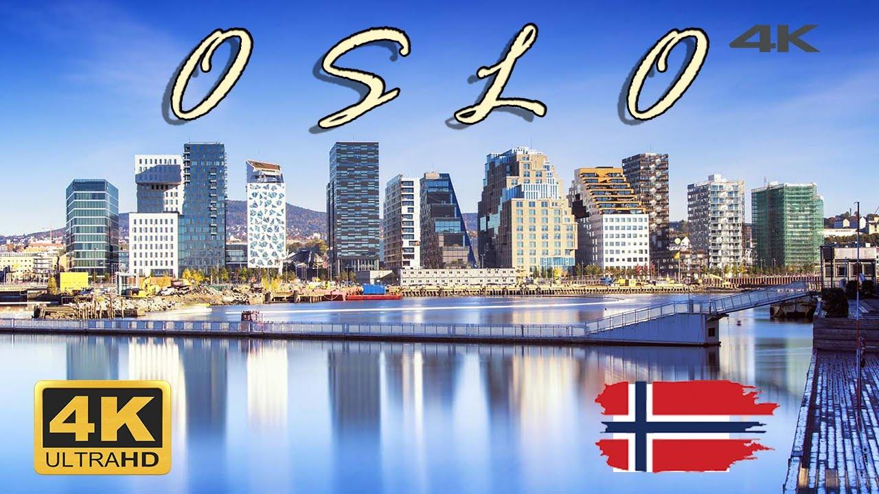 Download OSLO norway in 4k ULTRA HD 🇳🇴 - Oslo AERIAL DRONE {4K}