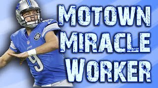 Matthew Stafford - The Motown Miracle Worker
