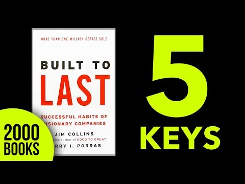 Built to Last AudioBook Summary Review Jim Collins