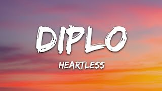 Download Diplo - Heartless (Lyrics) ft. Morgan Wallen