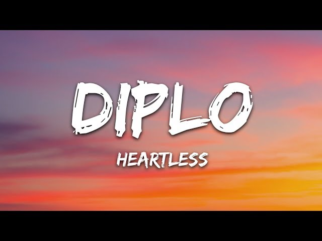 Diplo - Heartless (Lyrics) ft. Morgan Wallen