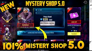 Garena Free Fire Mystery Shop 5.0 Details | 90% Discount in Mystery Shop 5.0 | Mystery Shop Date
