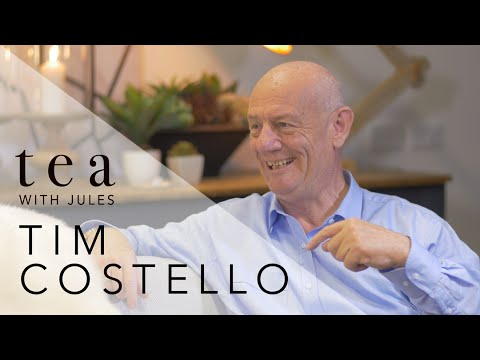 Tea with Jules with World Vision, Chief Advocate, Tim Costello