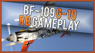 War Thunder RB Gameplay - Bf 109 G-10 - Who's The Sheep Now?