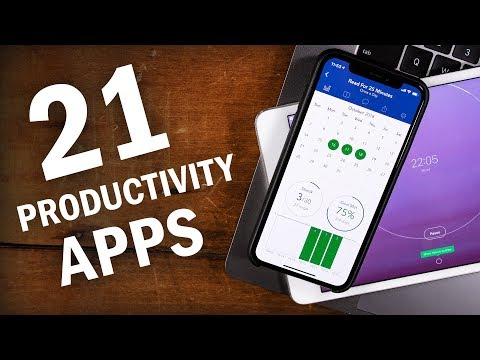 21 Apps That FORCE You To Be More Productive