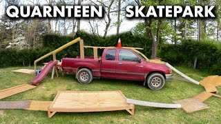 Isolation Skatepark I Built out of a Truck!
