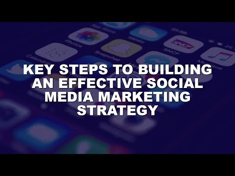 Key Steps To An Effective Social Media Marketing Strategy