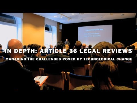 SIPRI Searchlight: Article 36 legal reviews