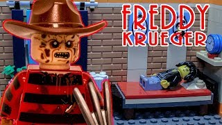 LEGO horror stop motion Freddy Krueger