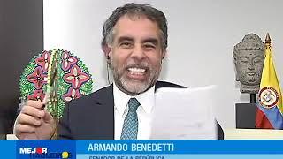 Entrevista al senador de la República Armando Benedetti/ Mejor Hablemos| CityTv
