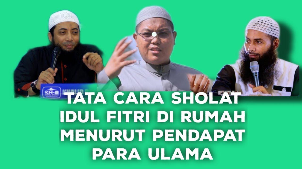Tata Cara Sholat Ied/Idul Fitri di Rumah Dengan Adanya ...