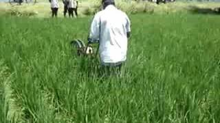 Power Weeder for Rice SRI Cultivation
