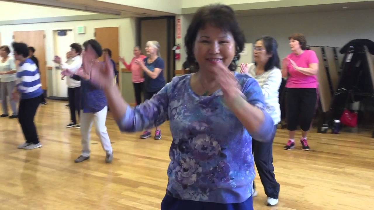 advanced zumba gold fremont senior center - that's what i like - youtube