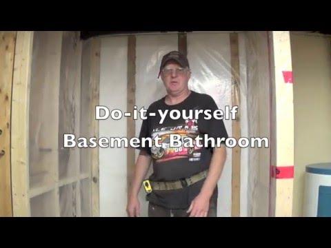 Diy Basement Bathroom Part 4 Installing Cement Board Youtube