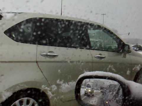 atak zimy w lublinie 18.03.2009 :]
