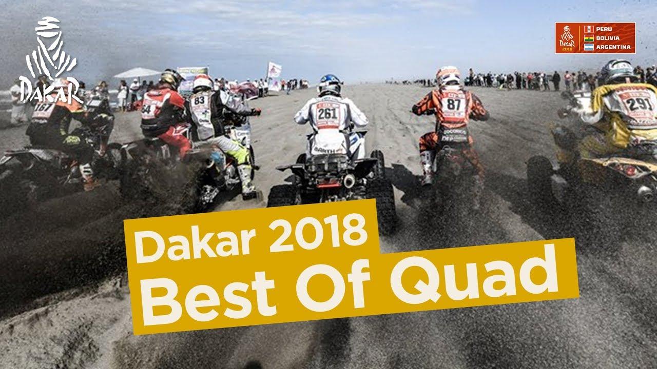 Best Of Quad - Dakar 2018 #1