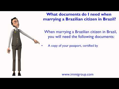 What Documents Do I Need When Marrying A Brazilian Citizen In Brazil?