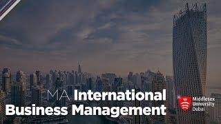 Ma International Business Management