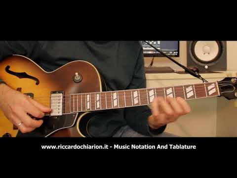 Jazz Guitar Etude #14 - Bluesette