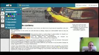 WIFEO : Enregistrement des brouillons  (édition simplifiée)