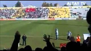 Altayımız-Balıkesirspor maçı öncesi - Şehit Yoklaması
