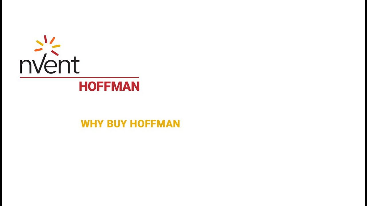 HOFFMAN Electrical Enclosures and Cooling Products   nVent HOFFMAN on