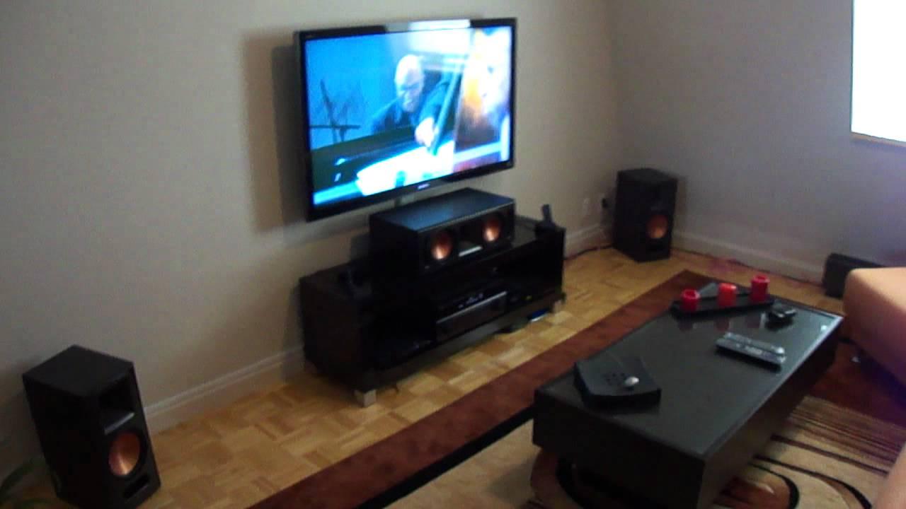 my klipsch system part 2 youtube. Black Bedroom Furniture Sets. Home Design Ideas