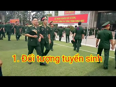 Những lưu ý về tuyển sinh quân sự năm 2021