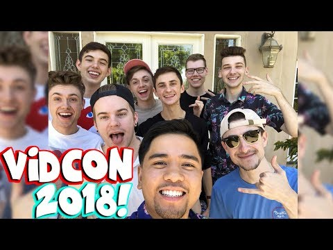 THE CREW & FRIENDS MEET THE PALS! (Vidcon 2018)