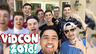 THE CREW FRIENDS MEET THE PALS Vidcon 2018