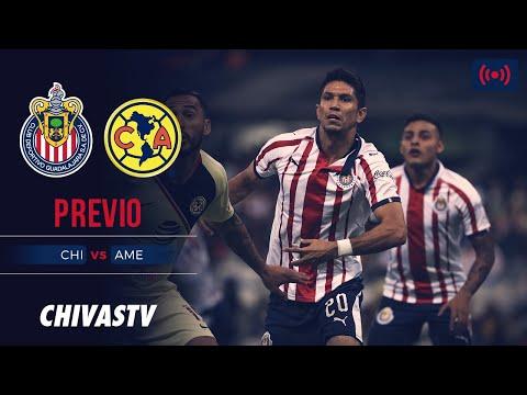 En Vivo Chivas Vs America Clasico Nacional Previo Chivastv Youtube