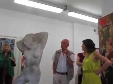 Hrdlicka Andenken Bernd Stöcker  Finissge, 11.7.2014 Kunstgalerie Flierl, Berlin
