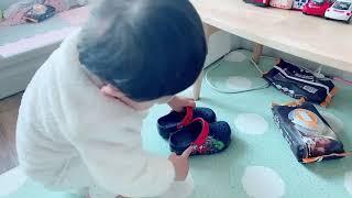 스스로 신발을 신어요 …