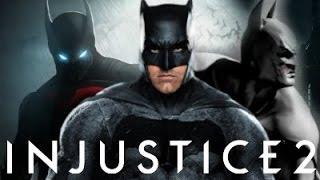 Injustice 2 - Top 5 Batman Premier Skins