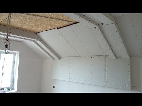 видео: гипсокартонный потолок 9. Прямые сдвоенные короба. gypsum ceiling.