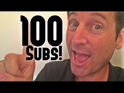 100 subscribers! thumbnail