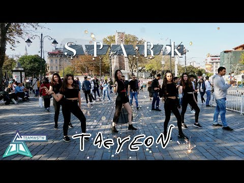[KPOP IN PUBLIC TURKEY] TAEYEON 태연 '불티 (Spark)' Dance Cover [TEAMWSTW]