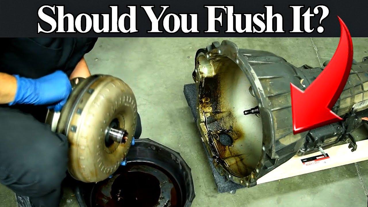 When a Transmission Fluid Change or Flush Can Damage Your Transmission