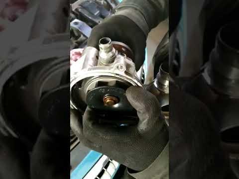 ММК-Автосервис в СЗАО, перегрев мотора на BMW E63, 645