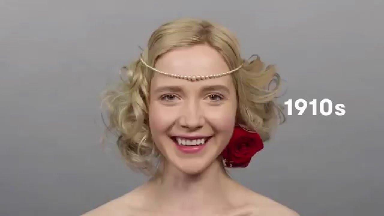 Модные женские стрижки и прически за 100 лет.