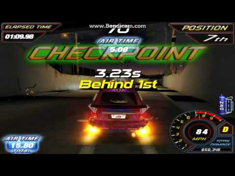 Repeat The Fast and Furious Arcade Game : Unlockable car - AKX - 470