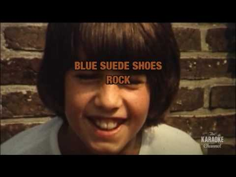 Blue Suede Shoes in the style of Carl Perkins | Karaoke with Lyrics